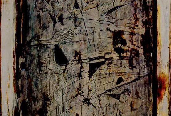 1997-Triptik-Acrylic on Wood