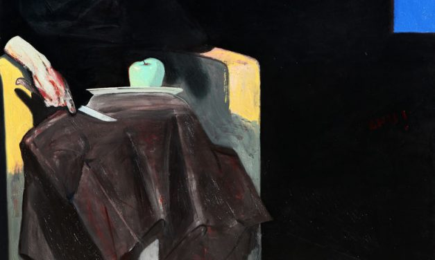 2010-Triptik-Nostalgjia-Oil on Canvas