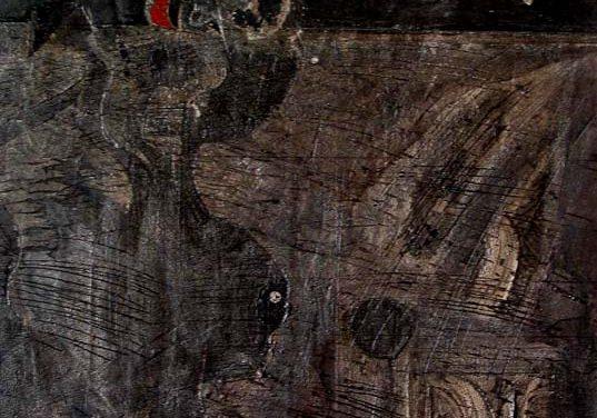 2003-2004-Ditari i Alkimistit-Acrylic on Wood