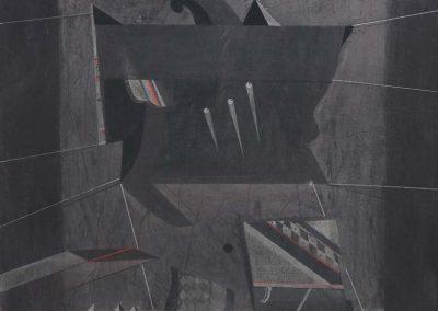 06. 2013 VELA E ZEZE E TEZEUT. 150cm X 150cm. Akril,boje Metalixato Mbi Kanavace..