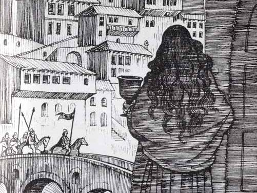 1981-Balada Popullore Shqiptare-Illustrations