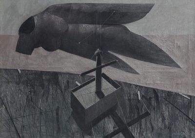29. 2014 KERUBINI 200cm X 150cm. Akril,boje Metalixato Mbi Kanavace..