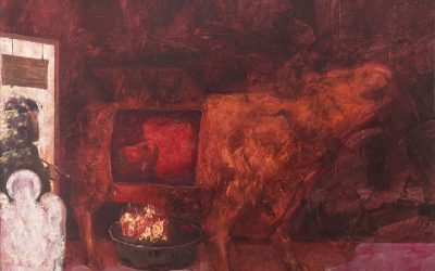 2019-Dhoma e Hapave te Humbur-Oil on Canvas
